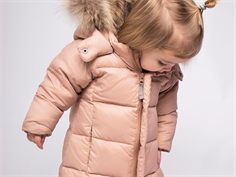 Ver de Terre baby down winter jacket mahogany rose